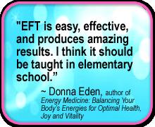 EFT Quote-Donna Eden